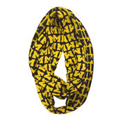 Emerson Street University of Michigan Block M Infinity Scarf
