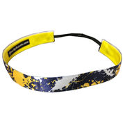 One Up Bands University of Michigan Paint Splatter Non-Slip Headband