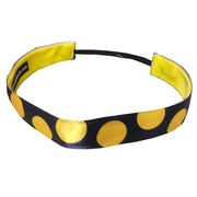 One Up Bands University of Michigan Polka Dot Non-Slip Headband