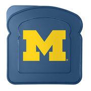 Boelter Brands University of Michigan Plastic Sandwich Container