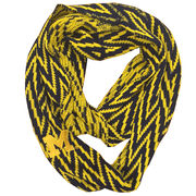 Emerson Street University of Michigan Chevron Infinity Scarf