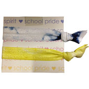 Wrist Words University of Michigan Hair Tie Me Tie Dyed Hair Ties