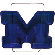 Baskins Everyday University of Michigan Block M Silicone Cake Pan