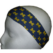 League Collegiate Outfitters University of Michigan All Over M's Headband