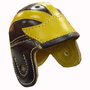 University of Michigan Football Mini Leather Helmet