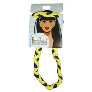 Pomchies University of Michigan Braided Headband