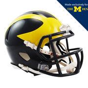 Ridell University of Michigan Football Miniature Speed Design Helmet