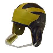 Michigan Wolverines Replica Retro Leather Football Helmet