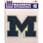 SDS University of Michigan Block M Car Magnet (5 3/4 x 8)