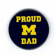 MCM University of Michigan Proud Dad Magnet