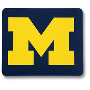 University of Michigan Navy Block M Mousepad