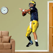 Fathead University of Michigan Football Tom Brady Wall Graphic