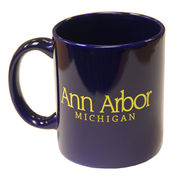RFSJ University of Michigan Navy Ann Arbor Coffee Mug