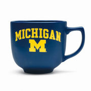 RFSJ University of Michigan Navy Martin Coffee Mug