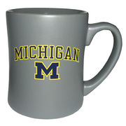 RFSJ University of Michigan Steel Gray MK Matte Coffee Mug