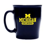 RFSJ University of Michigan Grandpa Navy Coffee Mug