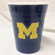 Spirit Products University of Michigan Reusable Navy Party Cup