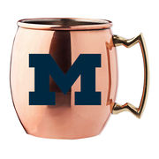RFSJ University of Michigan Moscow Mule Copper Mug