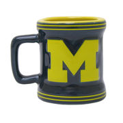 Boelter Brands University of Michigan Mini Sculpted Relief Coffee Mug