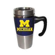 RFSJ University of Michigan Handled Varsity Travel Mug