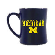 Matte University of Michigan Mug
