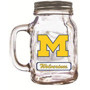 Duck House University of Michigan Glass Mason Jar with Lid