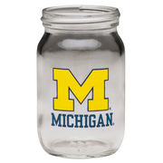 RFSJ University of Michigan Mini Shot Mason Jar