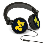 Keyscaper University of Michigan DJ Style Headphones
