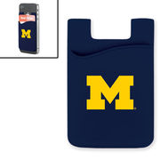 MCM University of Michigan Navy Smart Wallet Mobile Card Holder