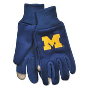 McArthur University of Michigan Touch Screen Compatible Technology Glove