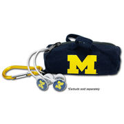Audio Spice University of Michigan BudBag Earbud Storage