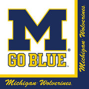 Stockdale University of Michigan 2-Ply Lunch Napkins