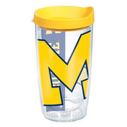Tervis University of Michigan 16 oz. Wrap Tumbler with Lid