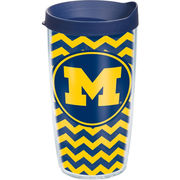 Tervis University of Michigan 16 oz. Chevron Tumbler with Lid