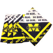 FKS Cushions University of Michigan Cloth Napkins (Set of 4)