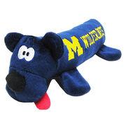 Pet's First University of Michigan Plush Tube Toy