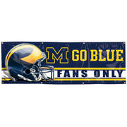 University of Michigan Vinyl Banner with Customized Text