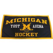 Yost Michigan Hockey Banner