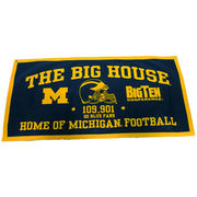 University of Michigan The Big House Felt Banner