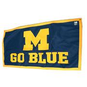 University of Michigan M Go Blue Banner