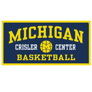 Collegiate Pacific University of Michigan Crisler Center Banner