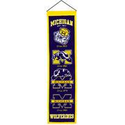 Winning Streak University of Michigan Heritage Wool Banner