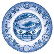 Classic Collegiate China University of Michigan Stadium Plate