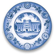Classic Collegiate China University of Michigan League Plate