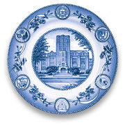 Classic Collegiate China University of Michigan Union Plate
