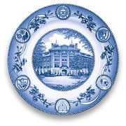 Classic Collegiate China University of Michigan West Hall Plate