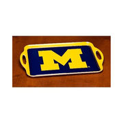 Michigan Wolverines Block M Serving Tray
