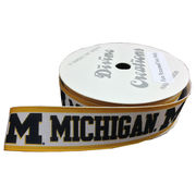 Divine Creations University of Michigan Hair Ribbon Roll