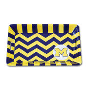 Magnolia Lane Pottery University of Michigan Mini Serving Tray