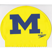 Speedo University of Michigan Yellow Swimming Cap